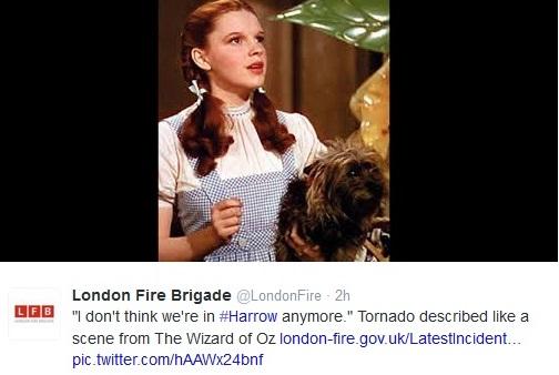 Tweet from @LondonFire