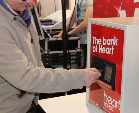 Heart Angels: Crack The Safe At Yorkshire Bank