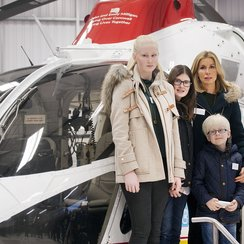 Milligan family and Air Ambulance