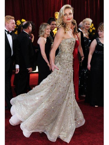 Cameron Diaz at the 2010 Oscars