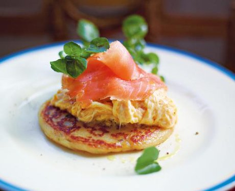 Jamie Oliver's Potato Scones With Scrambled Egg &a