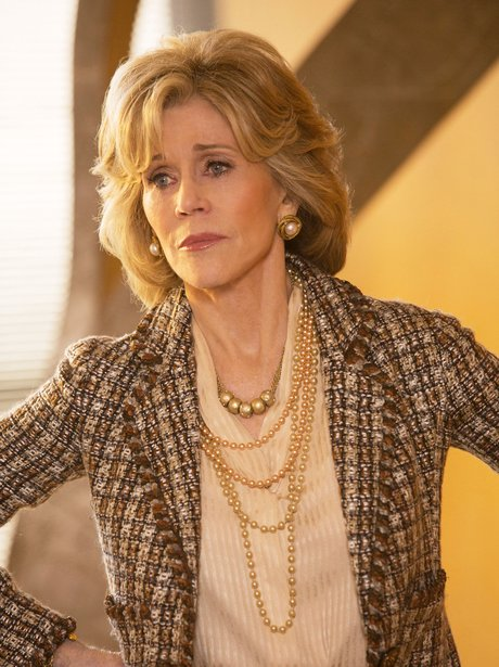 Jane Fonda in The Newsroom