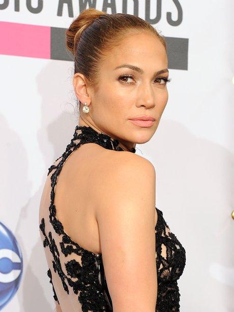 Jennifer Lopez Bun Hairstyle - hairstyle how to make