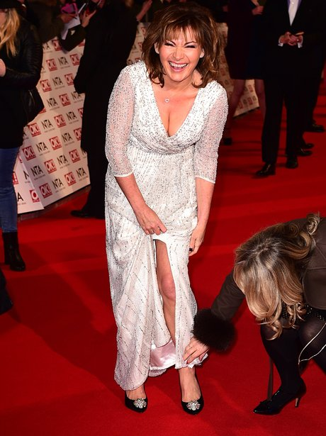 Lorraine Kelly at The National Television Awards 2015