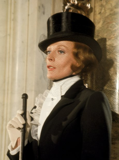 Maggie Smith in Travels With My Aunt