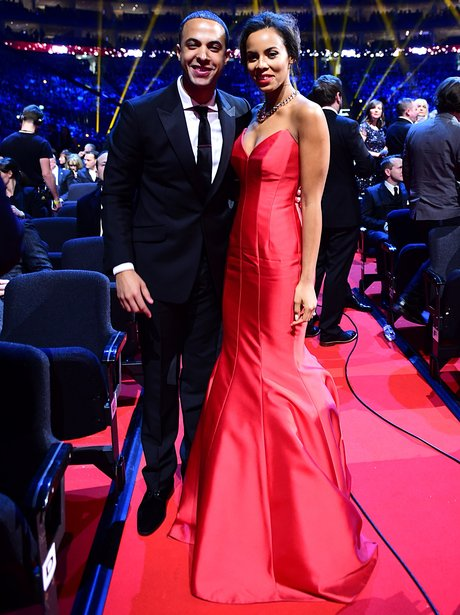 Marvin and Rochelle Humes at The National Television Awards 2015