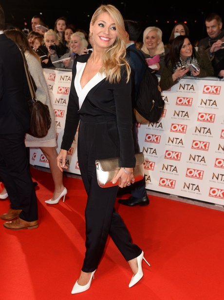 Tess Daley at The National Television Awards 2015