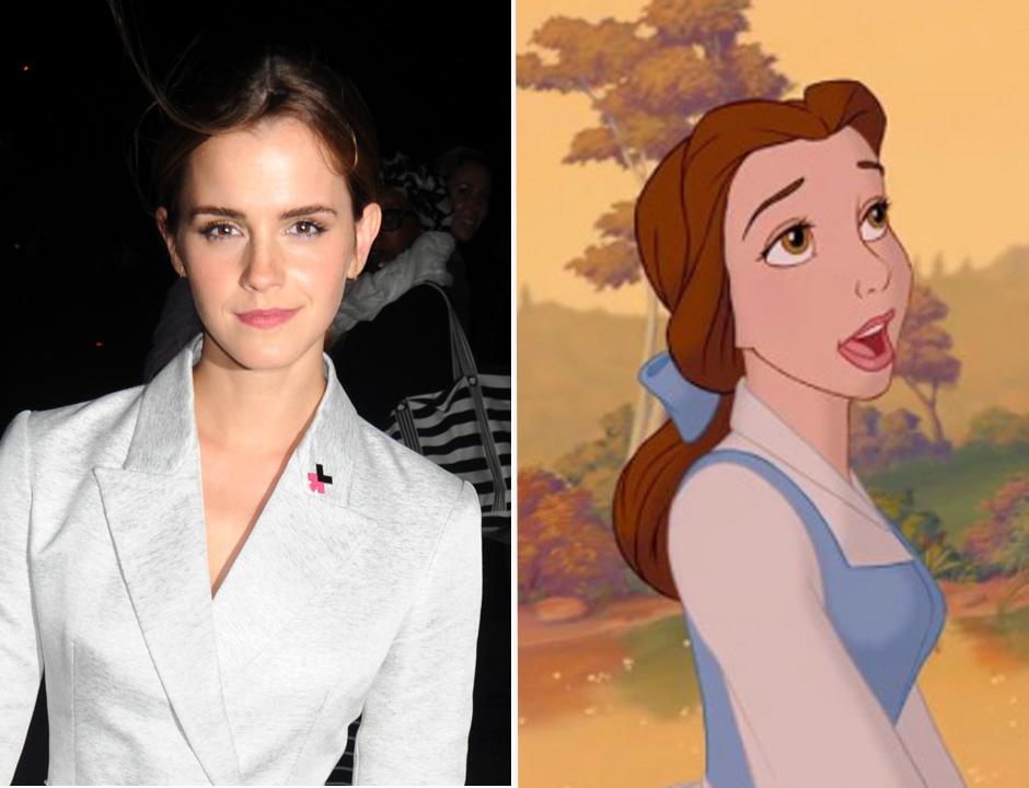 Emma Watson & Belle From 'Beauty & The Beast'