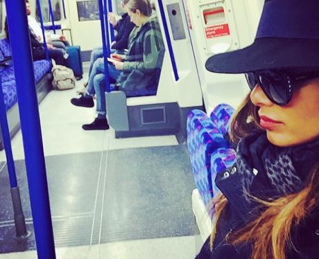 Nicole Scherzinger in disguise