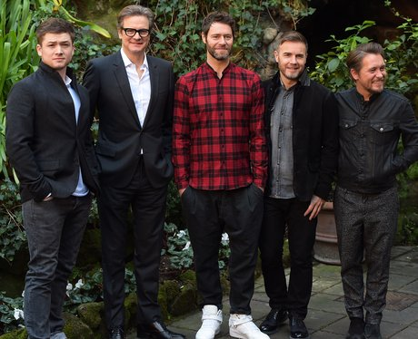 Colin Firth and Take That