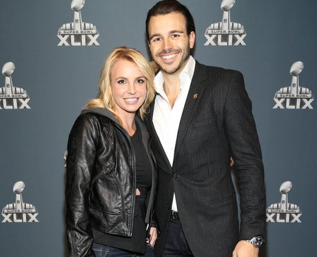 Britney Spears and Charlie Ebersol Super Bowl 2015