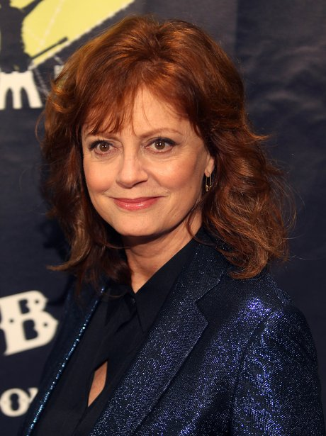 Curly And Choppy: Susan Sarandon. - 10 Gorgeous Long Hairstyles To ...