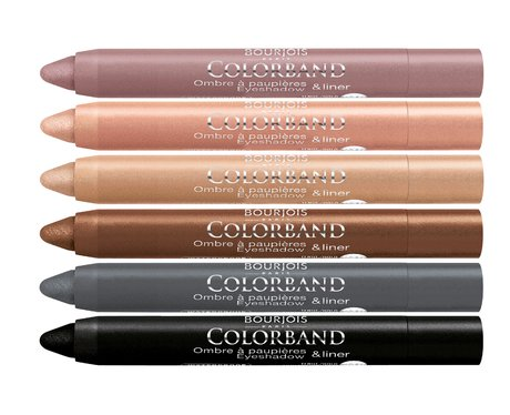 Bourjois Color Band Eyeshadow and Liner Crayon