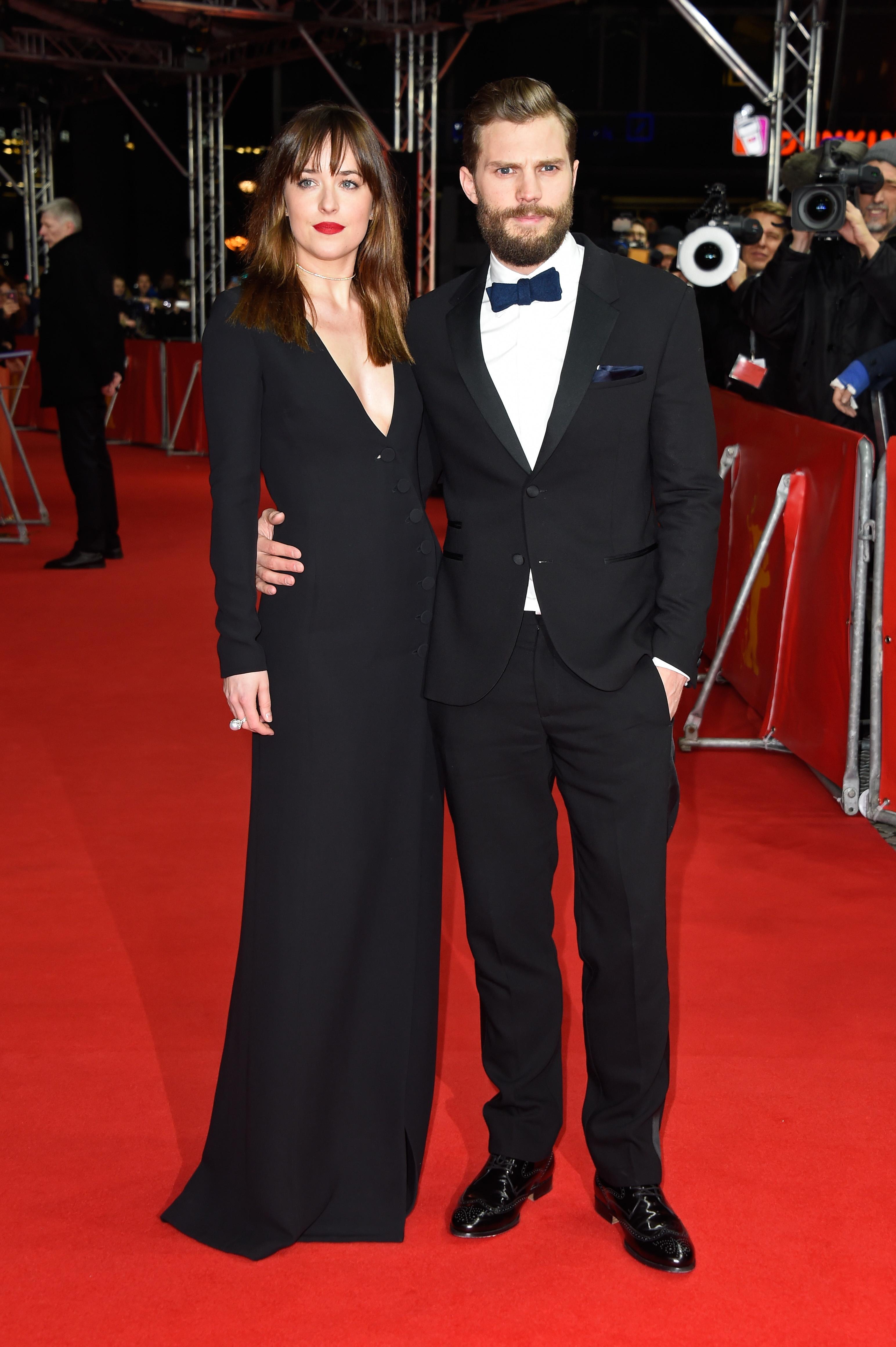 Dakota Johnson and actor Jamie Dornan