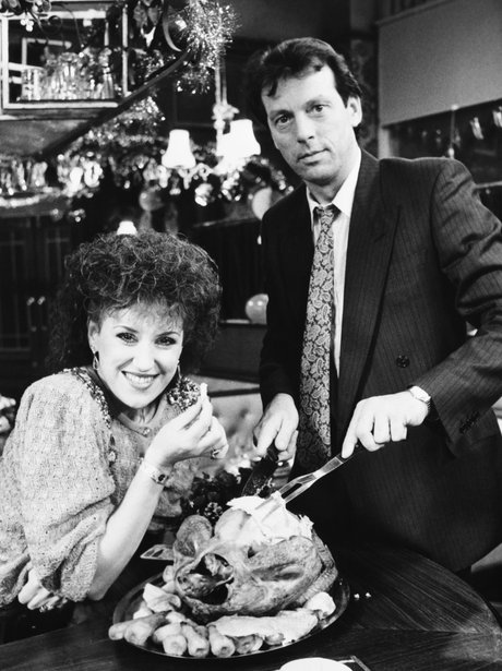 Den and Angie Watts Eastenders