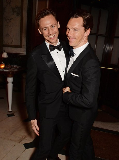 Tom Hiddleston and Benedict Cumberbatch