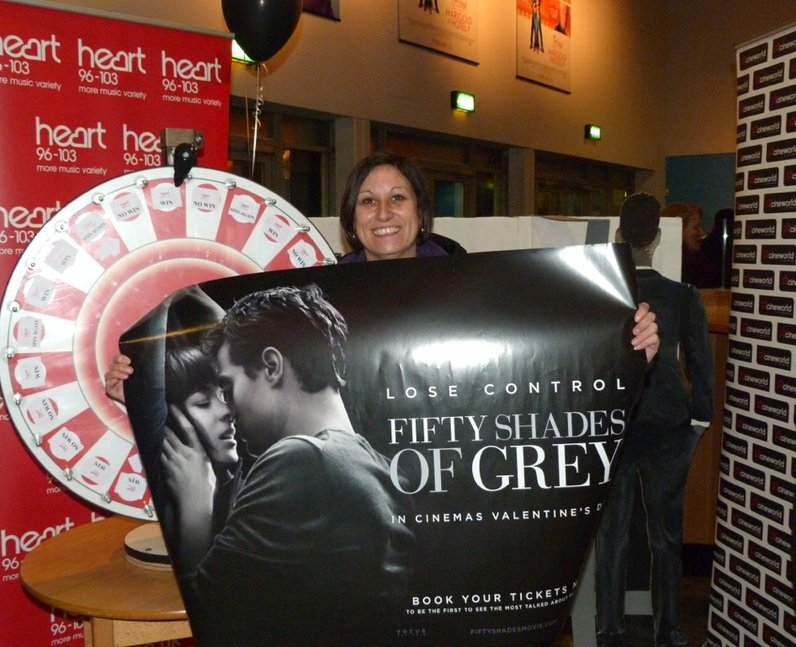 Fifty Shades of Grey Screening at Cineworld Braint