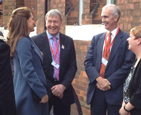 Duchess of Cambridge in Smethwick