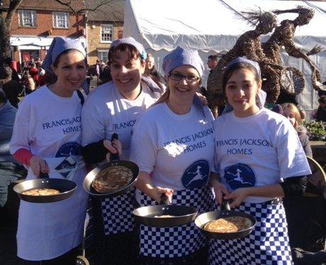 Olney Pancake Race 20