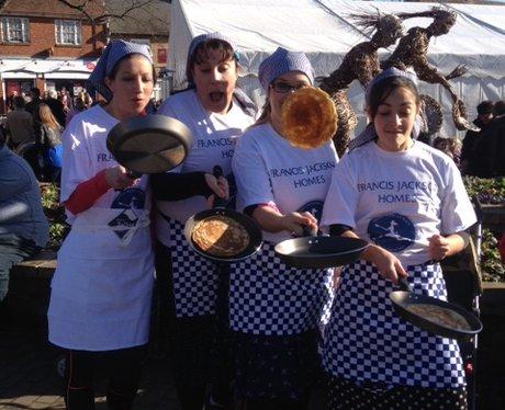 Olney Pancake Race 21