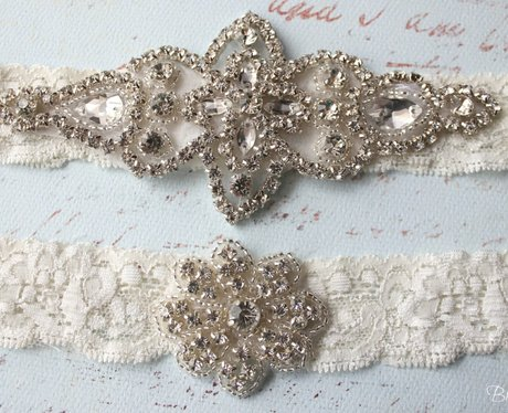 Bridal Goddess Bridal Garter Set