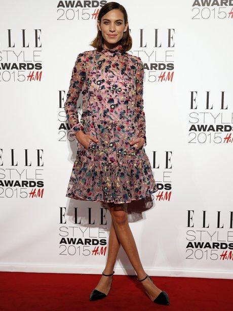 Alexa Chung at the Elle Style Awards 2015