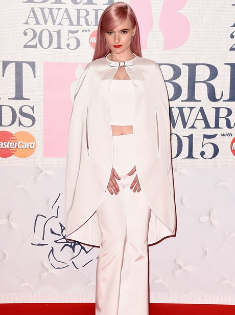 Grace Chatto at The Brit Awards 2015