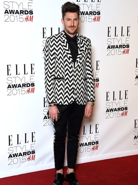 Henry Holland at the Elle Style Awards 2015