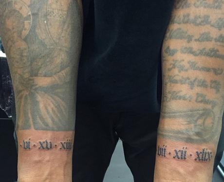Kanye West Tattoo