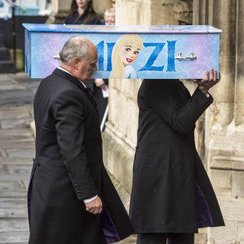 Mitzi Steady funeral at Bath Abbey