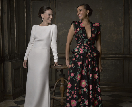 Natalie Portman and Rashida Jones are all smiles for their