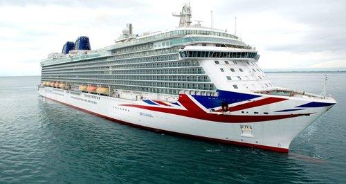 Queen Names Cruise Ship Britannia In Southampton Heart Hampshire - Names for cruise ships