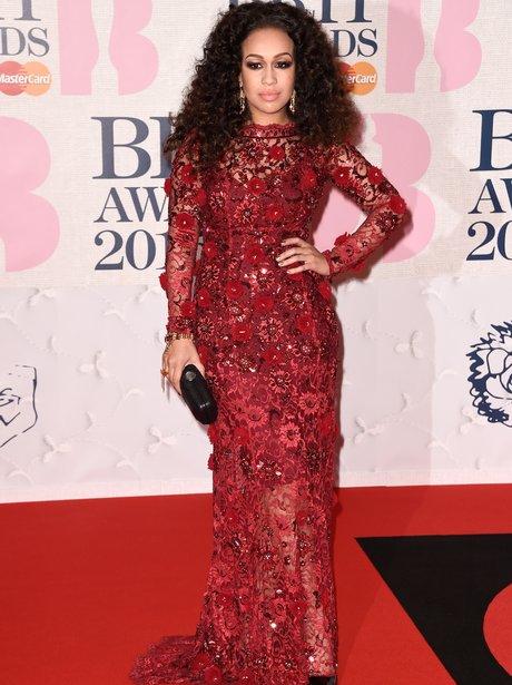 Rebecca Ferguson at the brit awards 2015