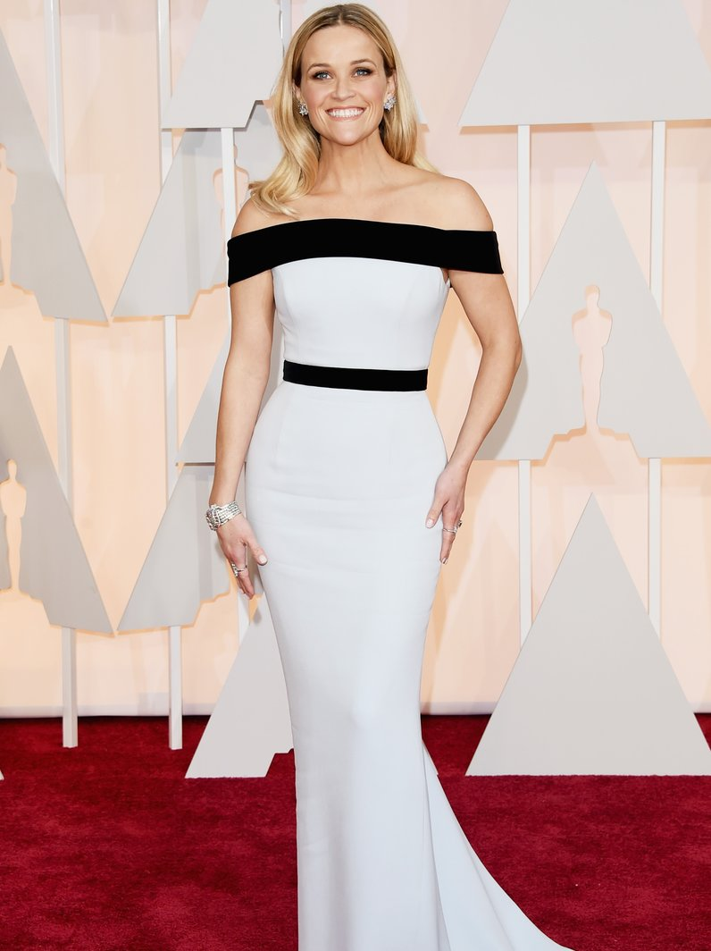 Reese Witherspoon wears Tom Ford Oscars 2015