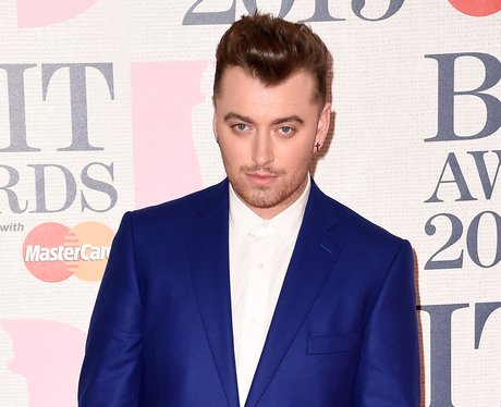 Sam Smith at The Brit Awards 2015