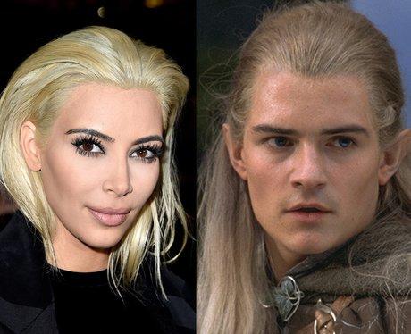 blonde Kim Kardashian Legolas