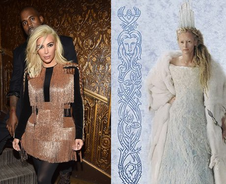 blonde Kim Kardashian tilda swinton