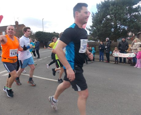 Cheering Point at Cov Half Marathon!