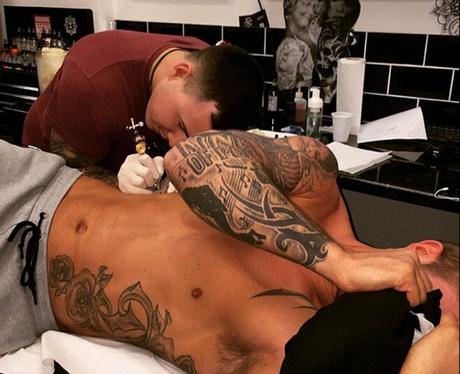 Dan Osbourne - tattoo
