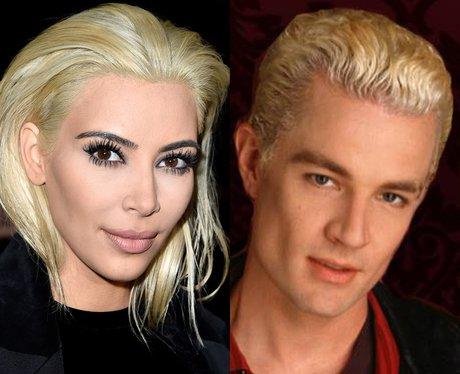 Kim Kardashian's Hair James Marsters in Buffy the