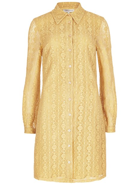 M&S Limited Edition Lace Shirt Dress, £45