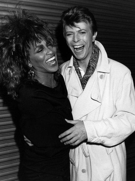 Tina Turner and David Bowie