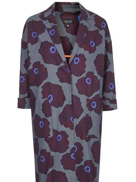 Topshop Floral Bloom Print Lightweight Coat, £79