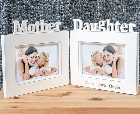 My 1st Years Personalised Mother And Daughter Photo Frame, £20 - 15 ...