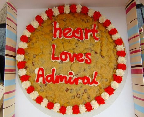 Our tasty GIANT cookies for Admiral!