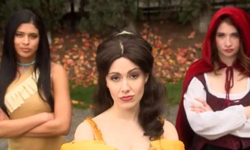 Sarah Michelle Gellar Princess Rap Battle