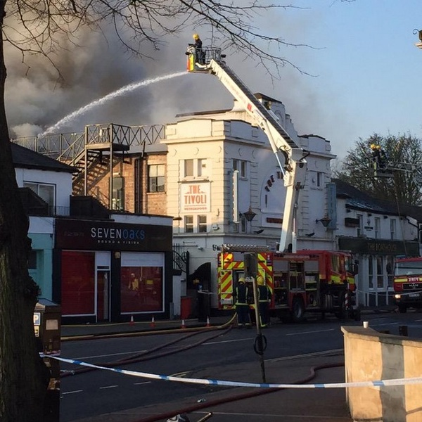 Tivoli Fire in Cambridge