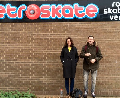 Dave & Heidi Try - Roller Skating