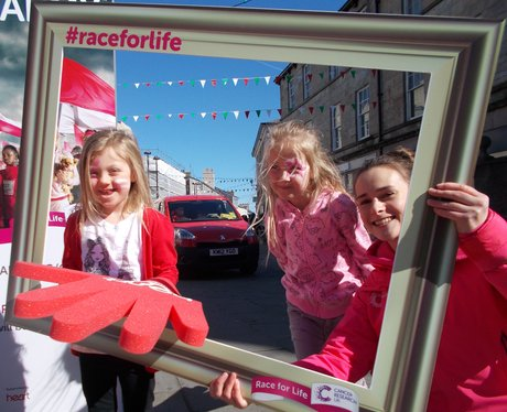Some Happy listeners in the Race For Life frame