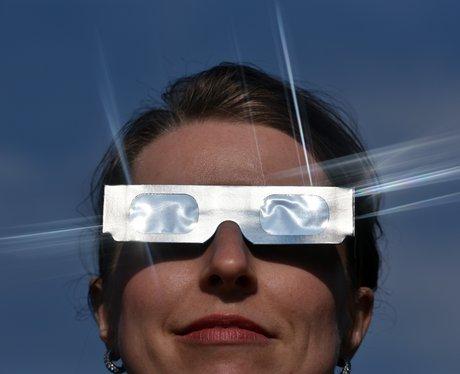 Special glasses for solar ecplipse
